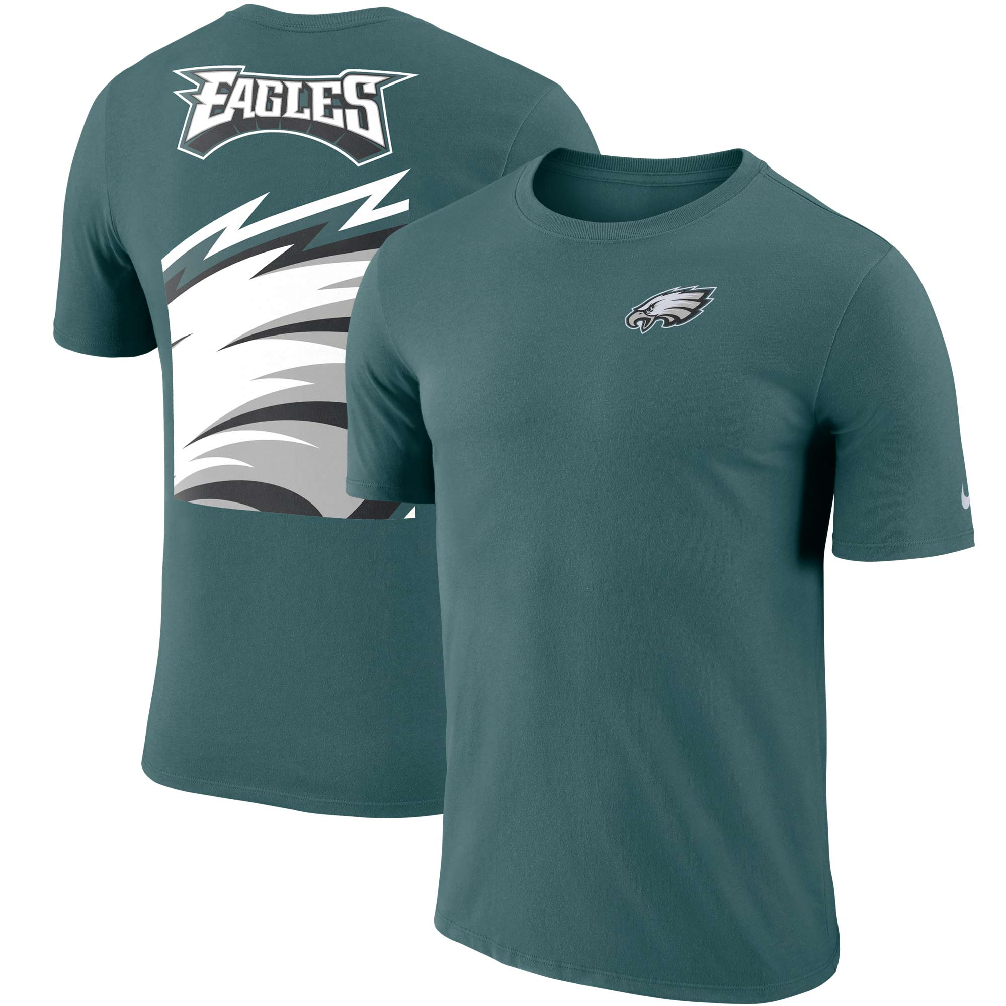 Philadelphia Eagles Nike Performance Crew Champ T-Shirt - Midnight Green