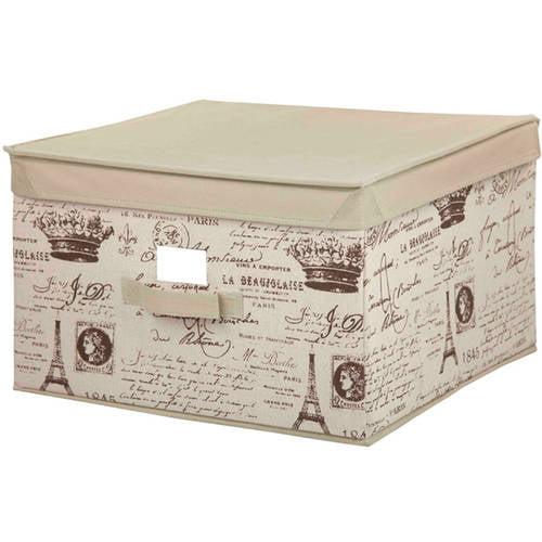 Storage Box with Lid, Large Paris