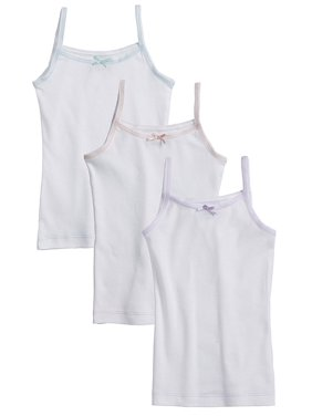 92f77fe19 Product Image Sportoli Girls and Toddlers Underwear Ultra Soft 100% Cotton  Pack of 3 Tagless White Cami