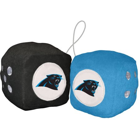 NFL Carolina Panthers Football Team Fuzzy Dice
