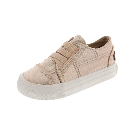 Blowfish Marley Rose Gold / Supernova Ankle-High Fabric Fashion Sneaker - 6M