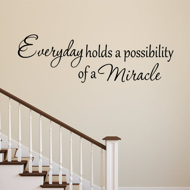 Possibility Of A Miracle Wall Decal