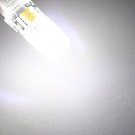/DC12V 3014 SMD Light Bulb Silicone Lamp 57- G9 2P Cool White