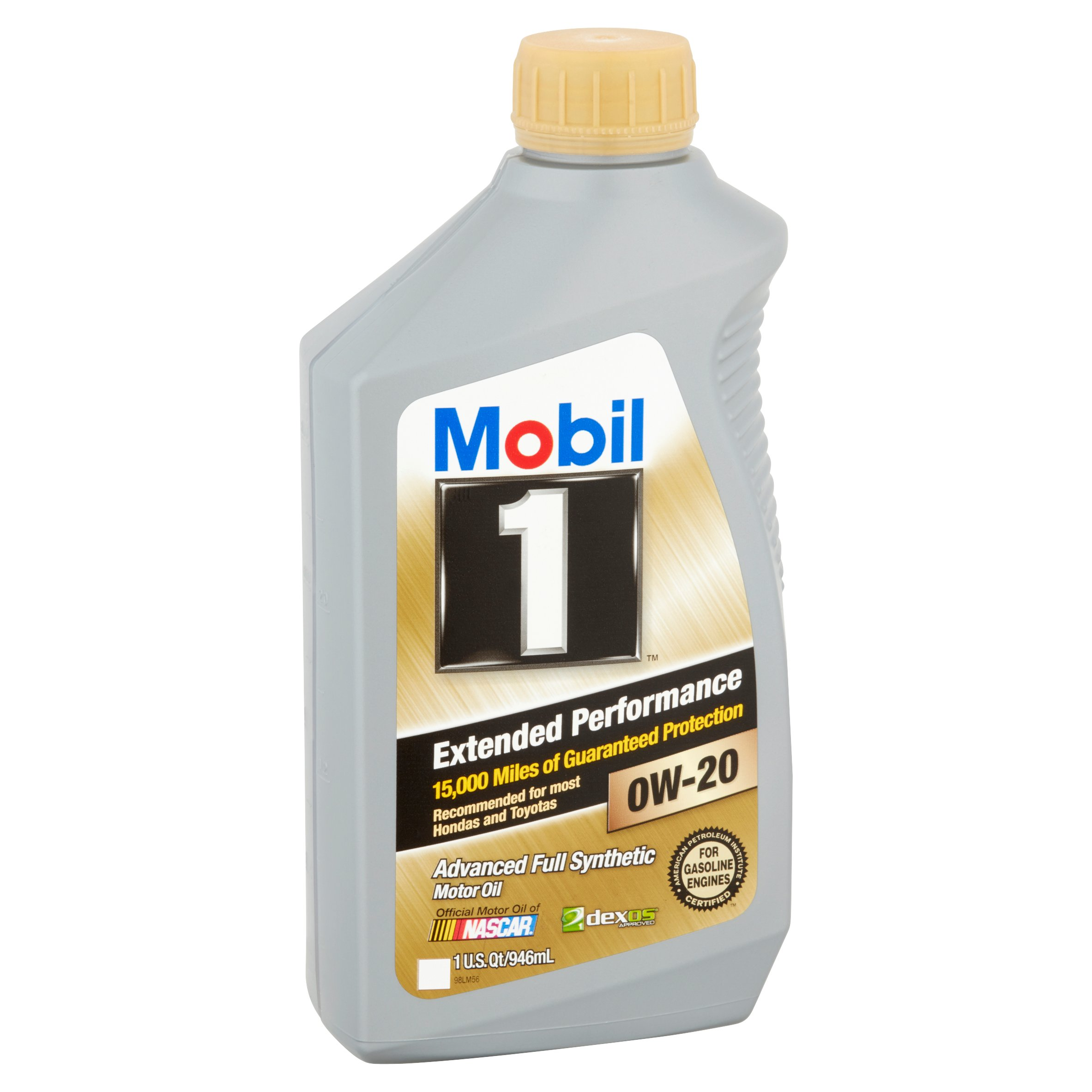 Mobil 1 extended performance 0w-20 advanced full synthetic motor oil, 1 qt