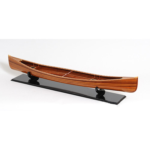 Old Modern Handicrafts Canoe Model Boat by Old Modern Handicrafts