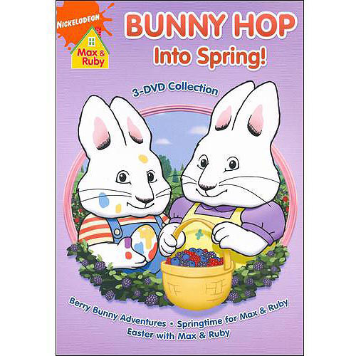 Max & Ruby: Bunny Hop Into Spring 3 DVD Collection (Full Frame)