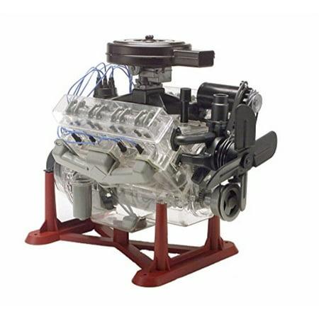 14 Inch Model Kit (revell 85-8883 1/4 visible v-8 engine plastic model kit, 12-inch)