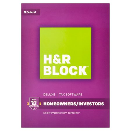 H Block Deluxe Tax Software