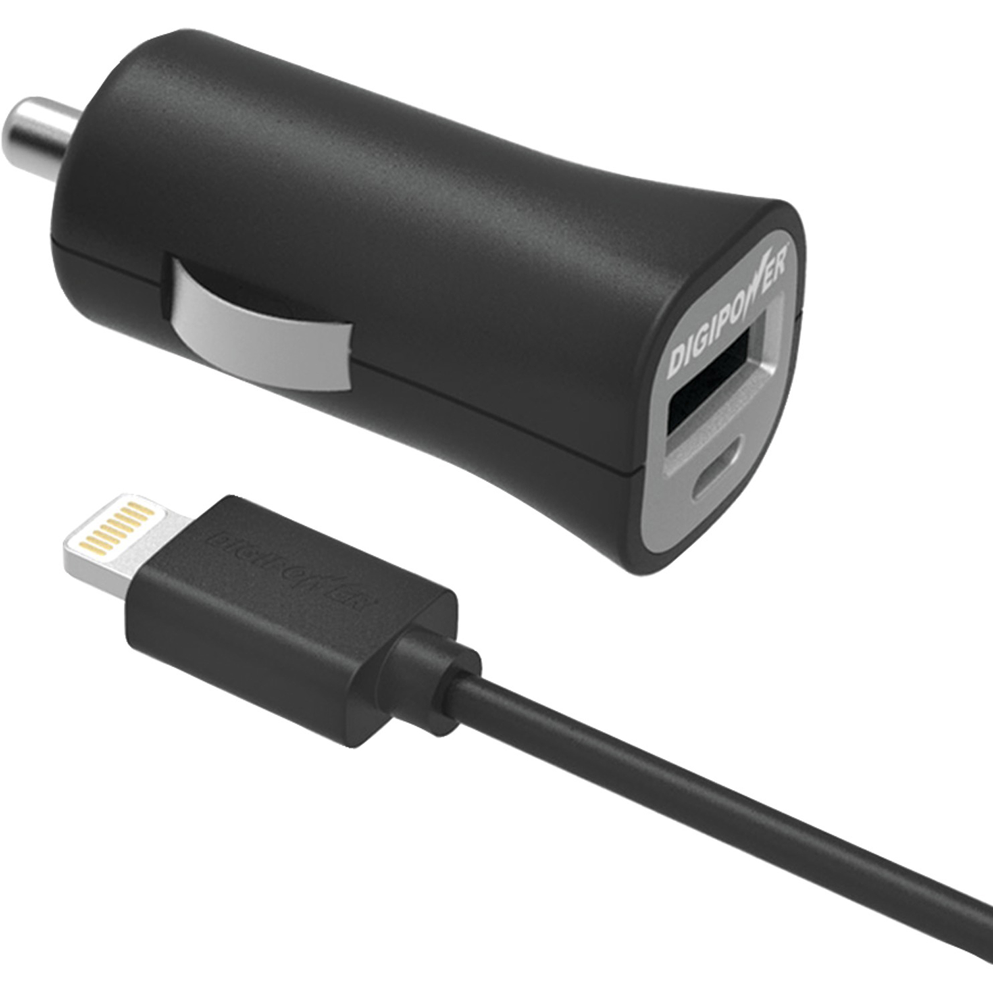 Digipower IS-PC2L InstaSense 2.4A Single USB Car Charger