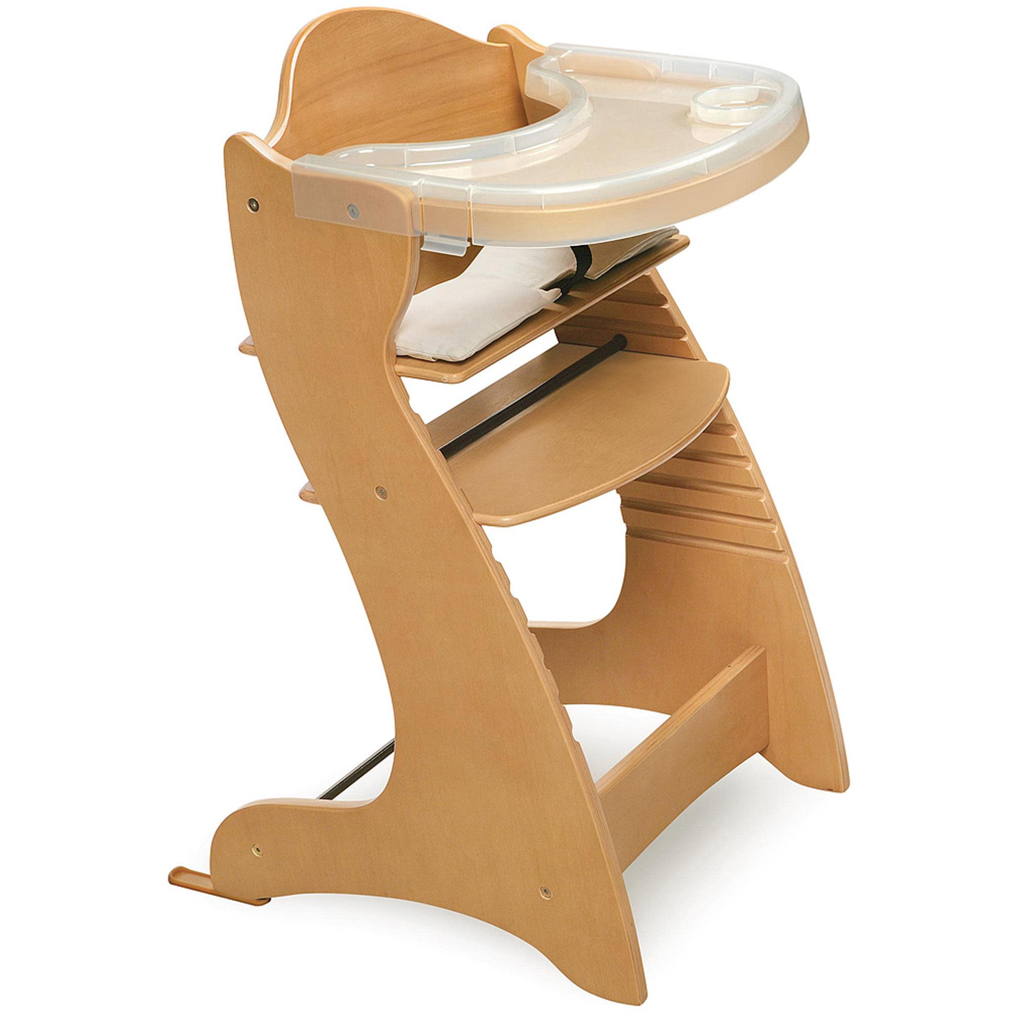 Badger Basket - Wooden High Chair, Natural