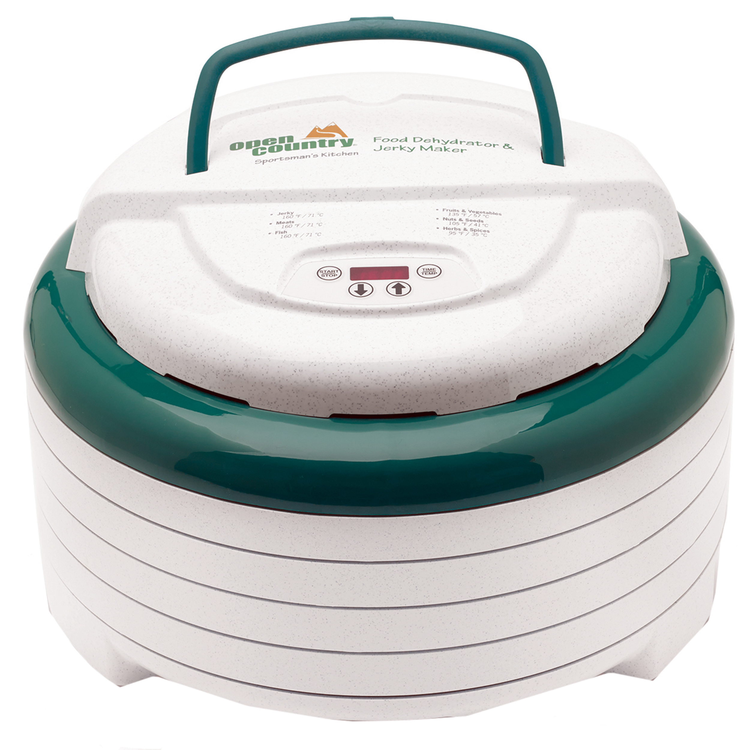 Open Country Dehydrator Gardenmaster Digital 1000 4-Tray FD-1022SK