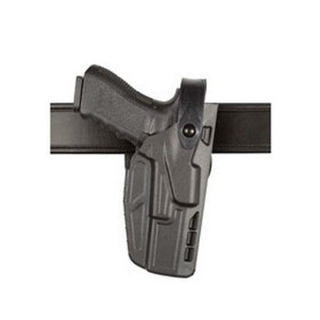 SAFARILAND 7280 Mid Ride Duty Holster Finish: STX Plain Gun Fit: Glock 17/22 X300U Hand: Right
