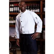 0482-2507 Rio Chef Coat in White - 3XLarge