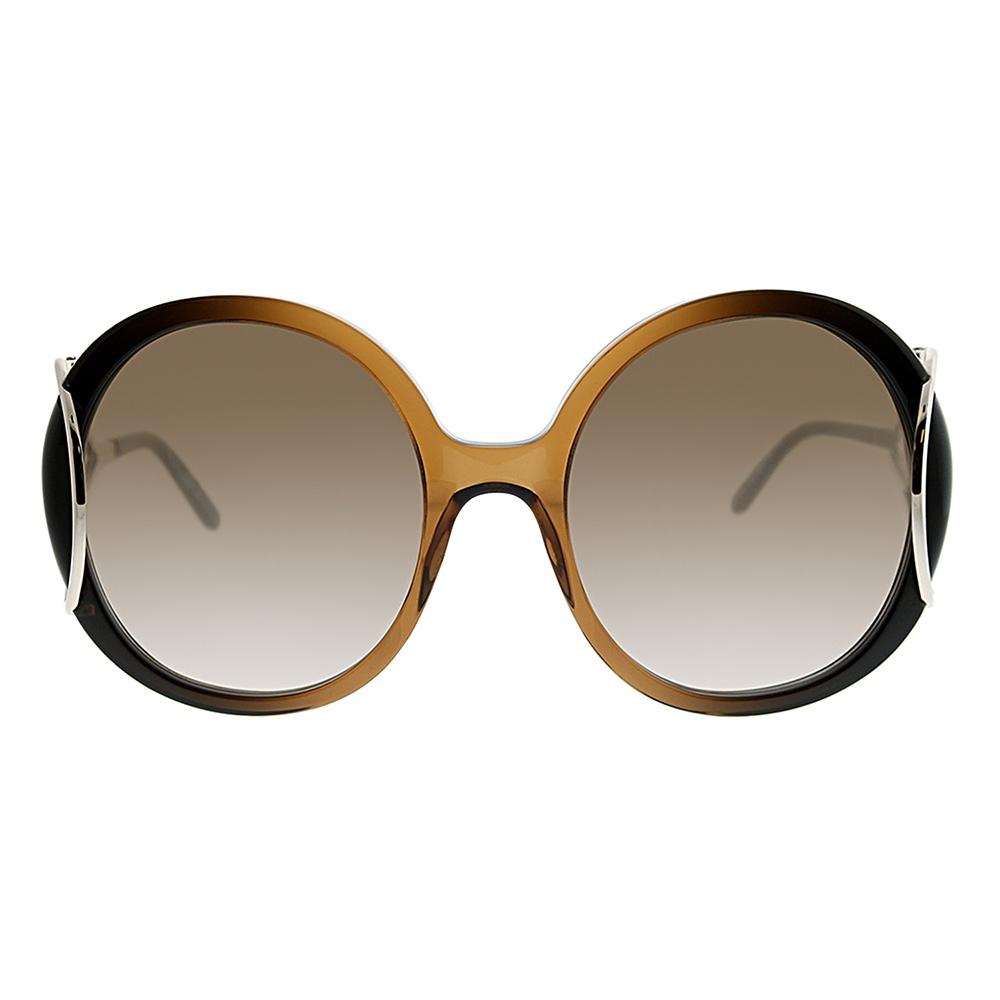 Chloe CE703S23356 Brown Gradient Ladies Sunglasses