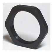 ENERGY CHAIN I-BMN-48 Connector Lock Nut,2.15in,Blk,Polyamides
