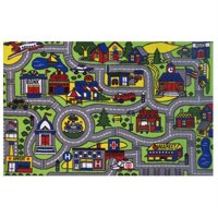 Fun Rugs Driving Time Area Rug (4 ft. 8 in. L x 3 ft. 2 in. W (5 lbs.))