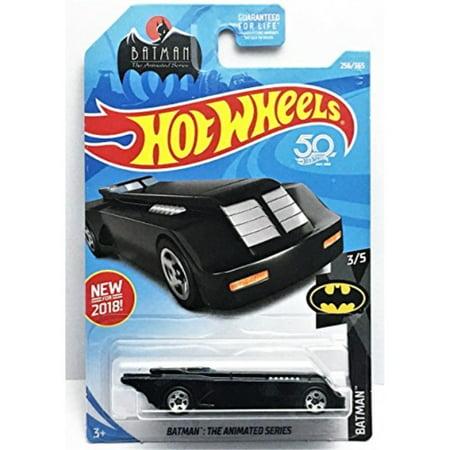 Hot Wheels 2018 DC Batman Batman: The Animated Series Batmobile 256/365, Black](Batmobile For Kids)