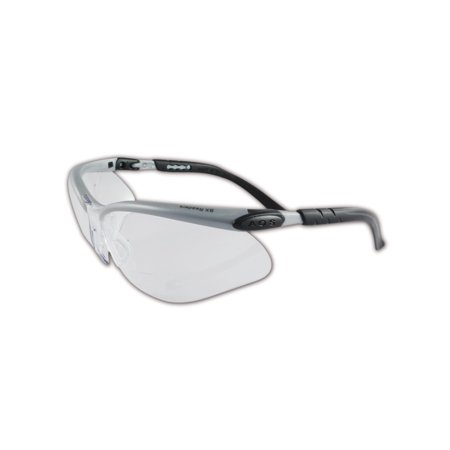 3M BX Reader Series Safety Glasses, Diopter +2.00, -