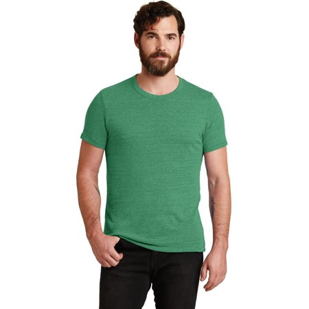 Alternative Apparel P.E. Tee Shirt. Eco True Green. L.