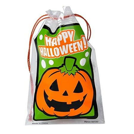 Mini Halloween Drawstring Goody Bag (package of 144) - Alton Towers Halloween Package