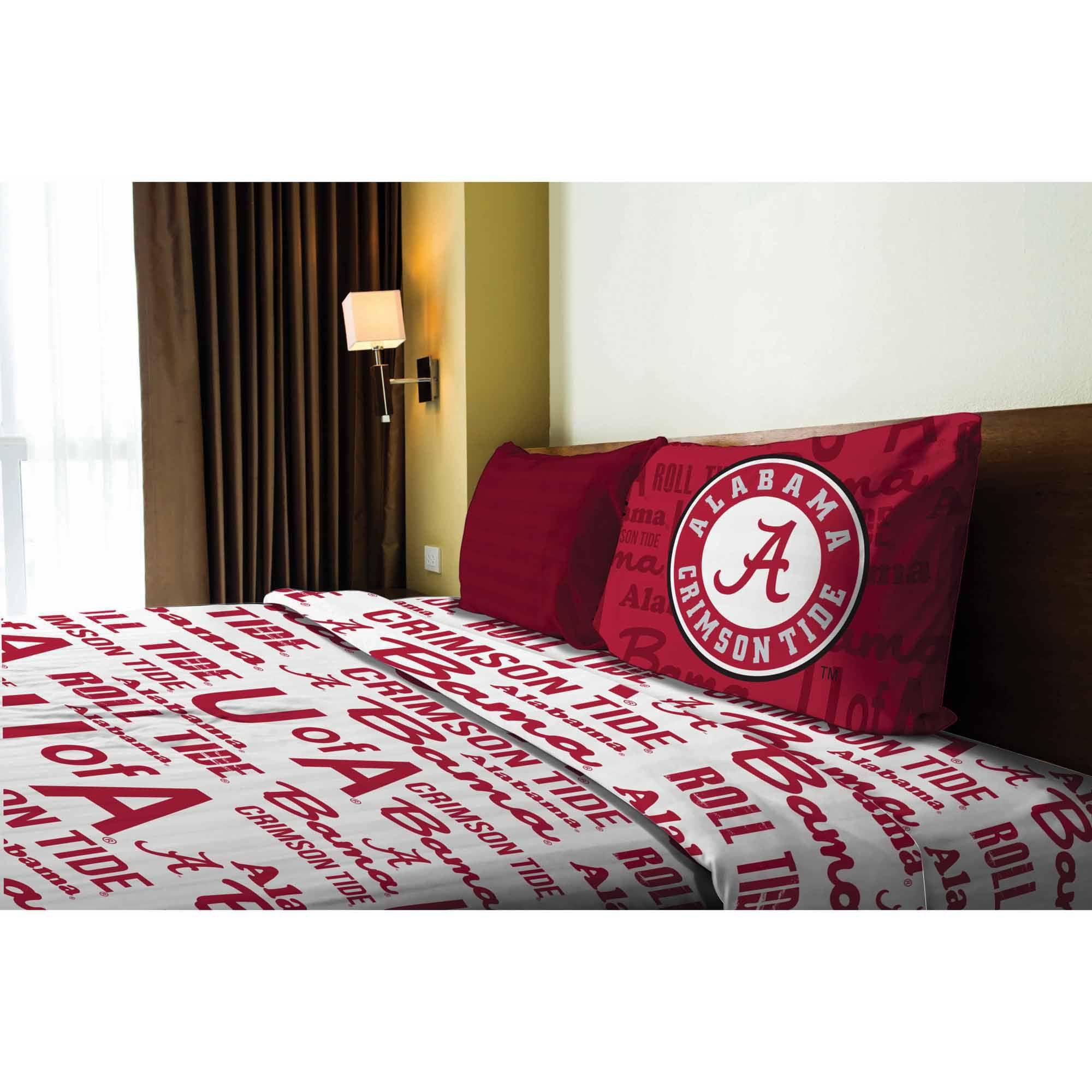NCAA Alabama Crimson Tide Sheet Set