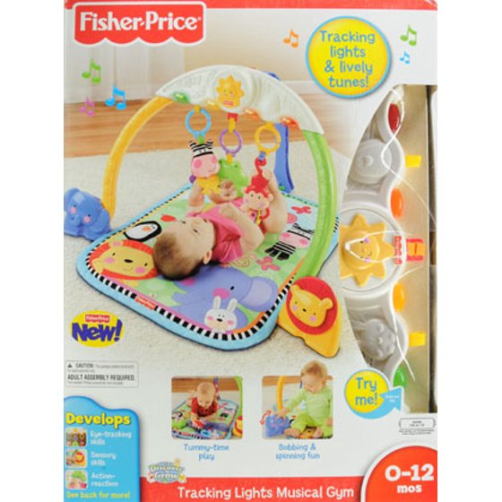 Fisher price discover n grow tracking lights music gym walmart publicscrutiny Images