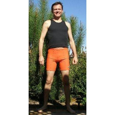 TRI@ Unisex Triathlon Shorts - Orange - Small