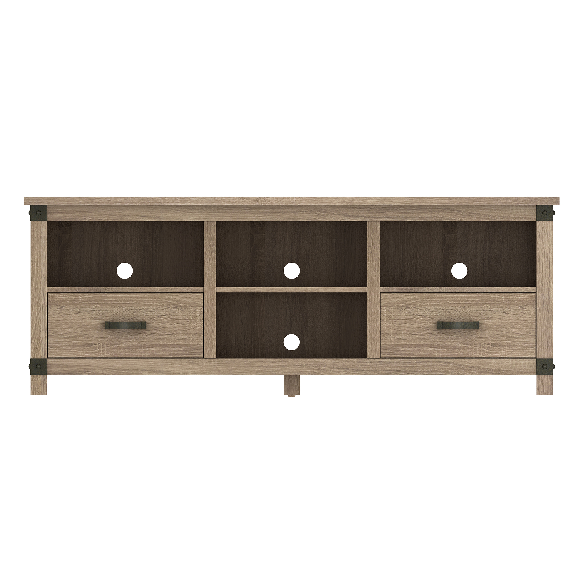 Croxley Minden Oak Tv Stand With Drawers For Tvs Up To 70 Walmart Com