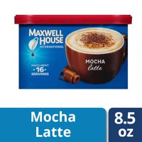 Maxwell House International Suisse Mocha Coffee, 7.2 oz Canister