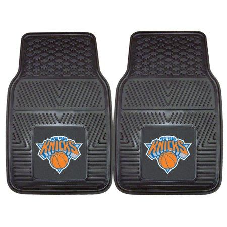 New York Knicks 2-pc Vinyl Car Mats 17