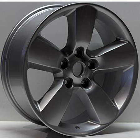 PartSynergy New Aluminum Alloy Wheel Rim 17 Inch Fits 2013-2018 Dodge Ram 1500 5-139.7mm 5 Spokes ()