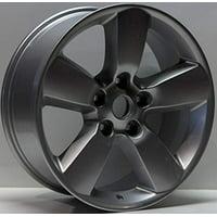 PartSynergy New Aluminum Alloy Wheel Rim 17 Inch Fits 2013-2018 Dodge Ram 1500 5-139.7mm 5 Spokes
