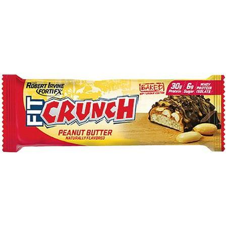 Robert Irvine Fortifx Fit Crunch Peanut Butter Protein Bar 88 G