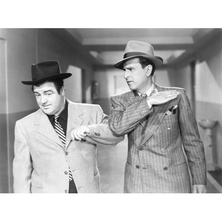Here Come The Co-Eds From Left Lou Costello Bud Abbott 1945 Photo