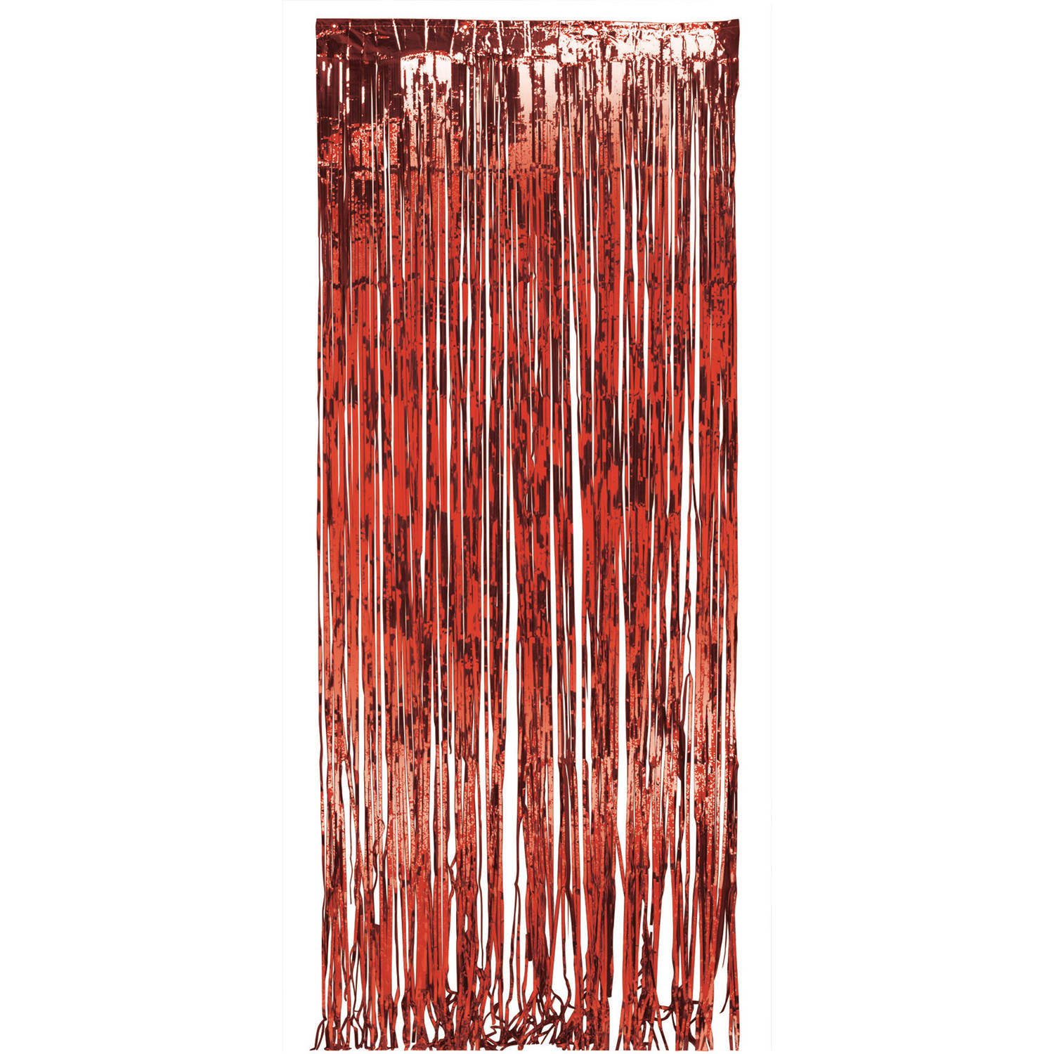 Red Foil Door Fringe