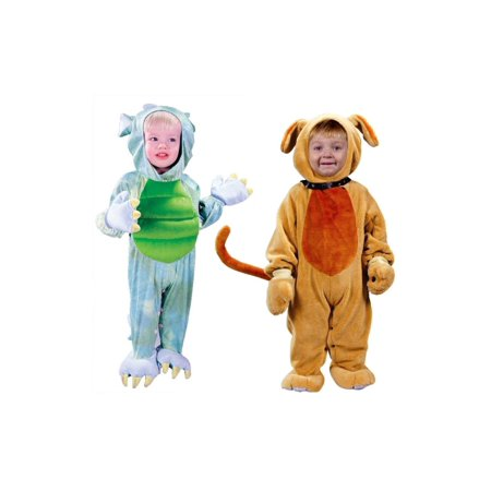 Puppy Dog and Dragon Baby Boys Costume Set