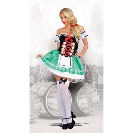 Bavarian Beer Babe Costume (Beer Babe Costume)