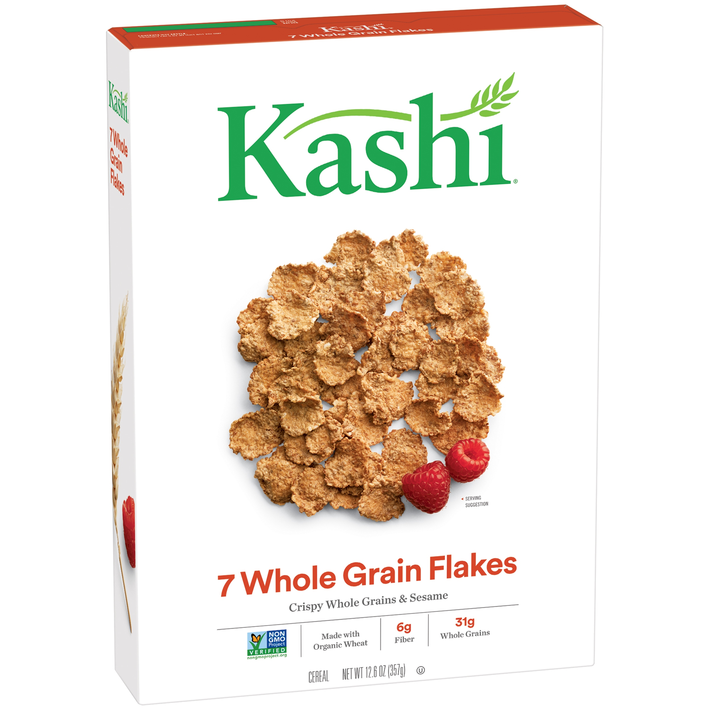 Kashi® 7 Whole Grain Flakes Cereal 12.6 oz. Box