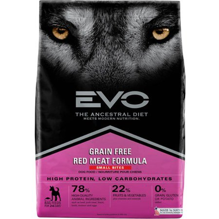 Evo Red Meat Formula Large Bite Dog Food