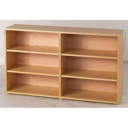 kids 6 shelf low bookcase. Black Bedroom Furniture Sets. Home Design Ideas