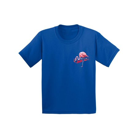 Awkward Styles Flamingo Pocket Tshirt for Kids Flamingo Patch Shirts Flamingo Youth T Shirt Flamingo Gifts Flamingo Themed Party Beach Shirts Summer Party T Shirt Pink Flamingo Tshirt for Kids](Summer Party Themes)