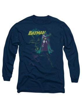 Product Image Batman DC Comics Bat Spray Adult Long Sleeve T-Shirt Tee 1864f74bfc