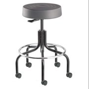 "BEVCO ErgoLux Backless Pneumatic Stool 20"" to 25"", Gray, S3200-Graphite seat"
