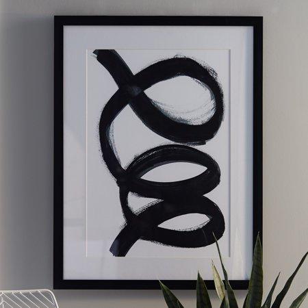 MoDRN Scandinavian Swirl Wall Art