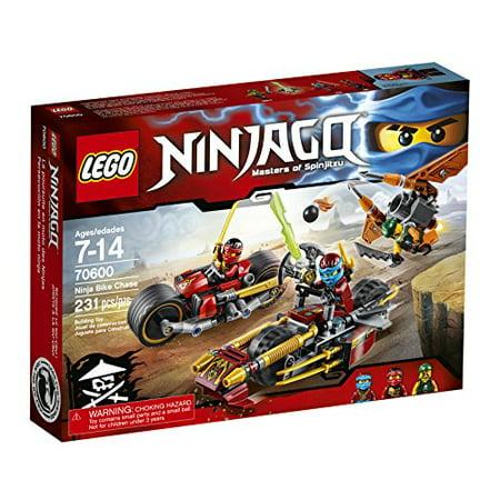 Red Lego Ninja (LEGO Ninjago Ninja Bike Chase)