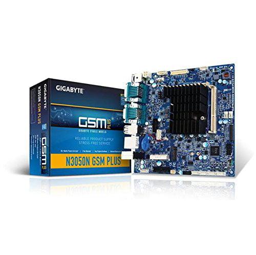 Gigabyte Ga-n3050n Gsm Plus Desktop Motherboard - Intel N3050 Dual-core [2 Core] 1.60 Ghz - Mini Itx - 8 Gb Ddr3l Sdram Maximum Ram - 1.60 Ghz Memory Speed Supported - Sodimm - 2 X (ga-n3050ngsmplus)