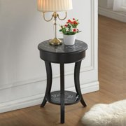 Carolina Chair and Table French Script Vintage Side Table