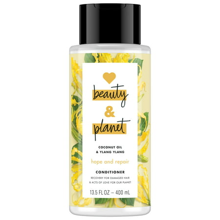 Love Beauty And Planet Hope and Hair Repair Conditioner for Dry Hair, Coconut Oil & Ylang Ylang 13.5