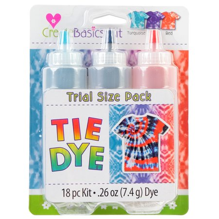 Create Basics Nautical Tie Dye Kit, 3-Color (Tie Dye Toothbrush)