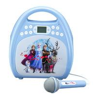 Disney Frozen II Bluetooth Kids Karaoke Machine with Microphone